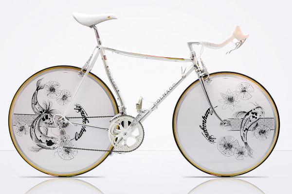 Belleza y diseño vintage se dan la mano en esta bicicleta
