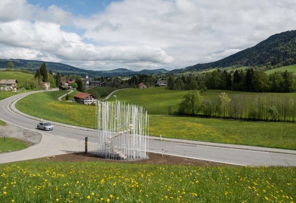 Grandes arquitectos reinventan las paradas de bus en un pueblo austriaco