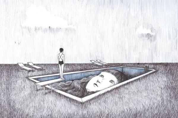 Oscuridad y belleza en las ilustraciones de Virginia Mori