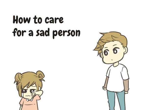 Cómo cuidar de una persona triste  (en 10 sencillos pasos)