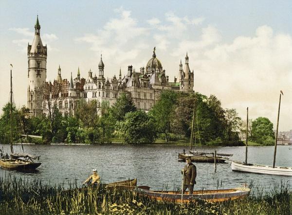 Curiosas fotografías en color que muestran Alemania en 1900