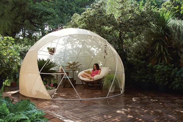 Un iglú para aislarnos y relajarnos en cualquier estación