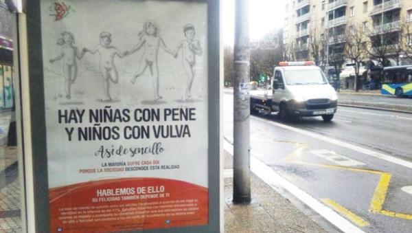 """""""Hay niñas con pene y niños con vulva"""", una campaña para concienciar sobre la transexualidad infantil"""