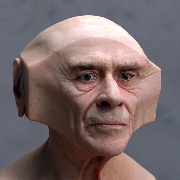 'Deformations': retratos realistas y distorsionados de Lee Griggs