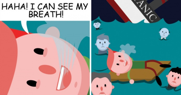 Las tiras cómicas de humor negro e irreverente de Nick Fisher