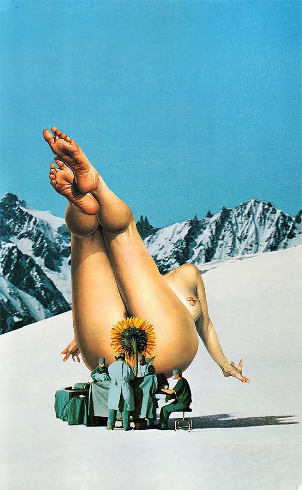 Los atrevidos collages de Jacqueline Mak mezclan consumismo, política y sexo