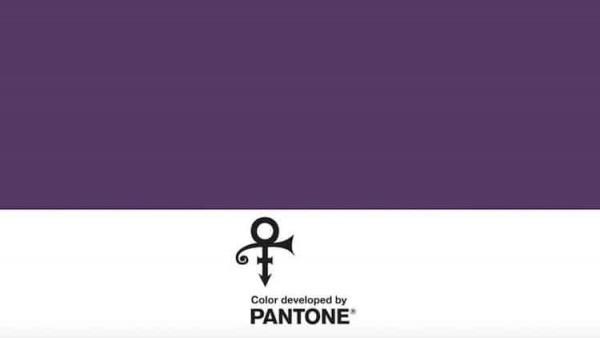Pantone desarrolla un nuevo tono púrpura en honor a Prince