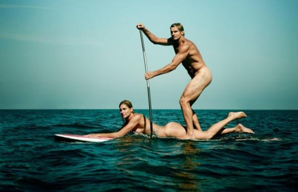 Deportistas de élite posan desnudos y tienen un aspecto fabuloso