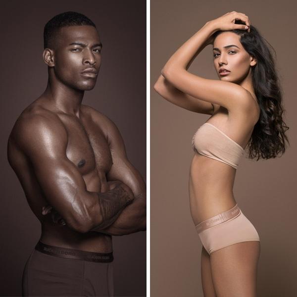 Estimulantes fotografías que muestran que la belleza tiene cabida en todos los tonos de piel