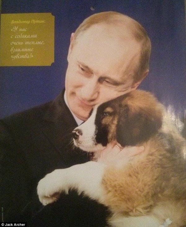 El calendario Putin es lo más sexy de 2016..