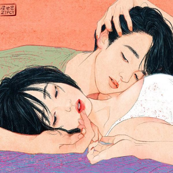 Esta ilustradora coreana plasma con tal maestría el amor y la intimidad que casi se puede sentir