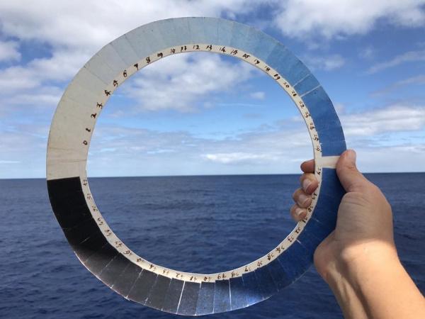 Cianómetro, el artefacto que mide el azul del cielo