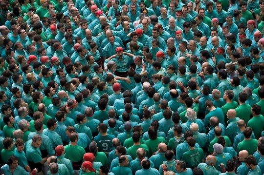 Castellers: Torre Humana