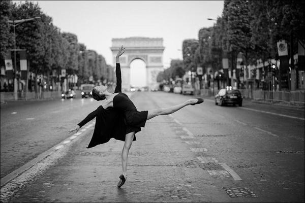 Ballerina Project: Fotografías de bailarinas explorando ciudades del mundo