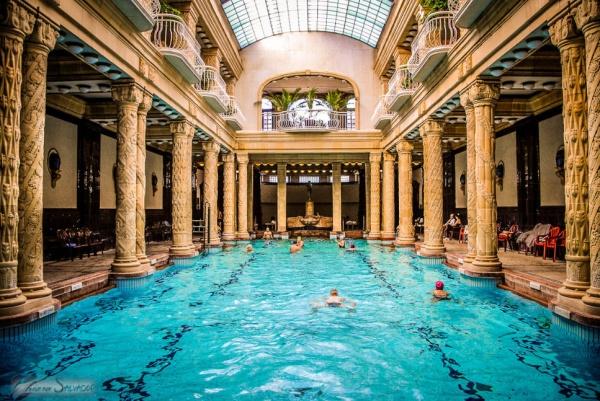 El grandioso Hotel Gellért de Budapest, una maravilla del Art Nouveau