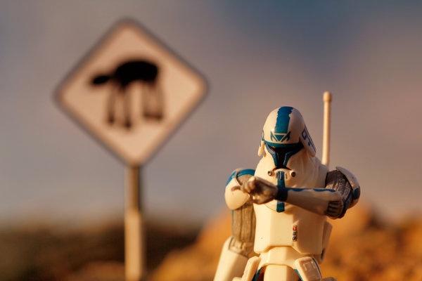 La dura vida de un soldado imperial
