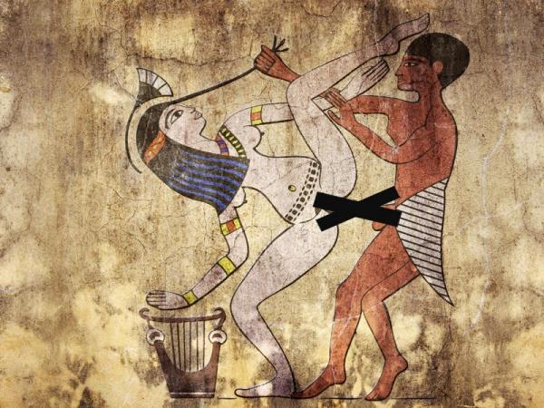 9 datos curiosos sobres las prácticas sexuales en el Antiguo Egipto