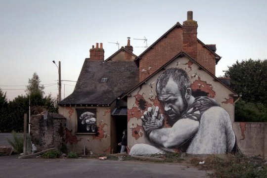 Retratos hiperrealistas: Street art por MTO