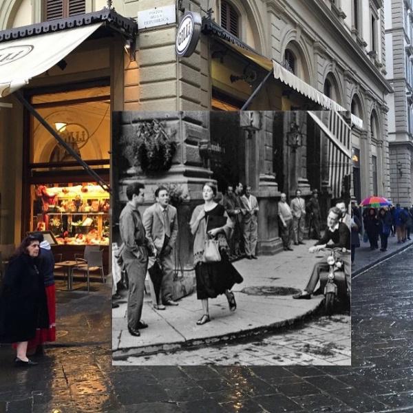 Fotomontajes que mezclan emblemáticas escenas del pasado con el presente