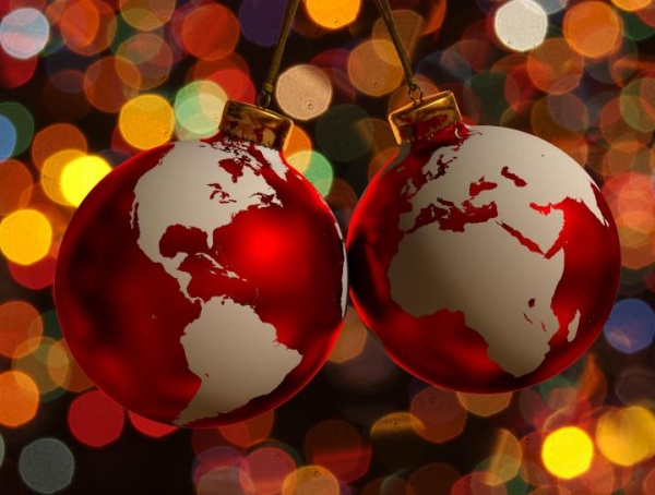 Celebrando la Navidad por el mundo
