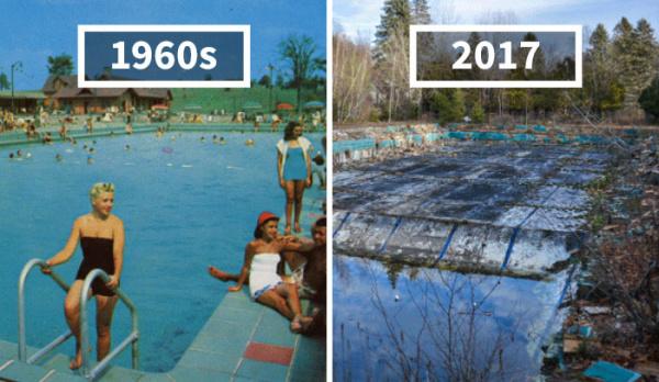 Un fotógrafo nos muestra la decadencia de resorts de hace 50 años