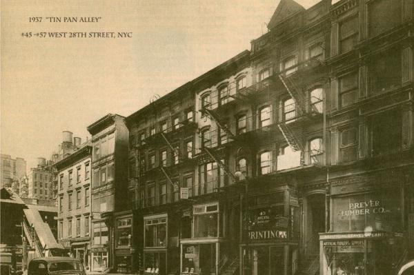 Tin Pan Alley: la calle que fue la capital de la música a primeros del s.XX