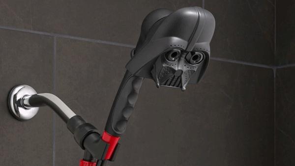 Con estas duchas de Star Wars podemos ducharnos con lágrimas de Darth Vader