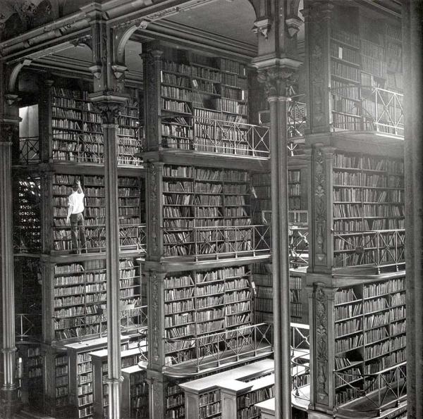 26 de las más extraordinarias bibliotecas del mundo