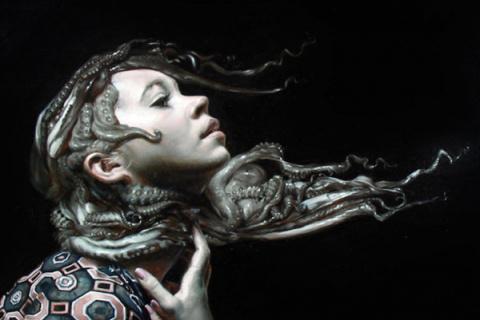 Fantasía marina en las pinturas hiperrealistas de Victor Grasso