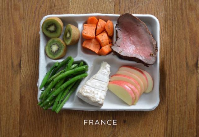 Fotografías que documentan los diferentes almuerzos escolares alrededor del mundo
