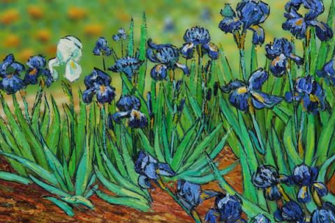 Las obras maestras de Van Gogh reimaginadas usando el efecto diorama